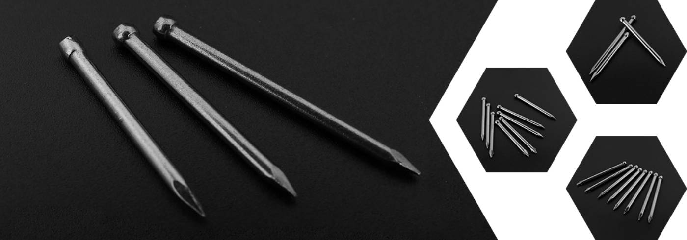 Masonry / Concrete Nails for Building Constructions